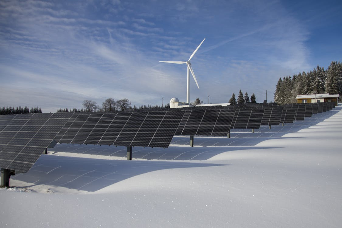 Green energy and power plants